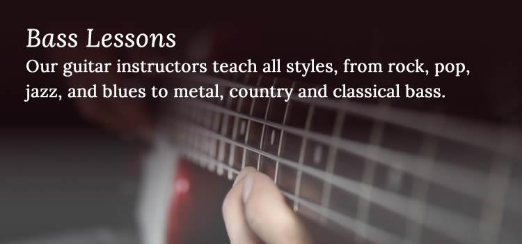 Bass Lessons - Niagara School of Music