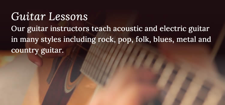 Guitar Lessons - Niagara School of Music