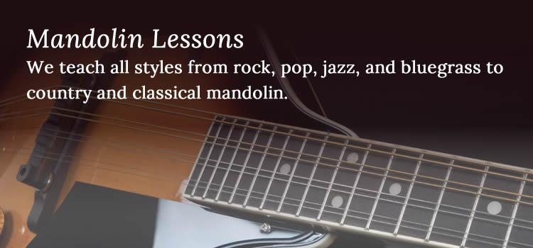 Mandolin Lessons - Niagara School of Music