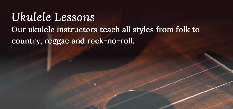Ukulele Lessons - Niagara School of Music
