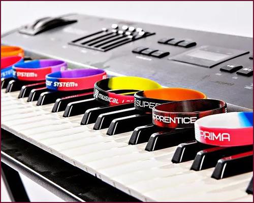 Musical Ladder Award Wristbands - Niagara School of Music